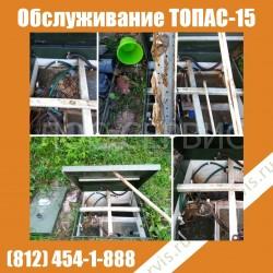 Сервисное обслуживание ТОПАС 15 в Токсово
