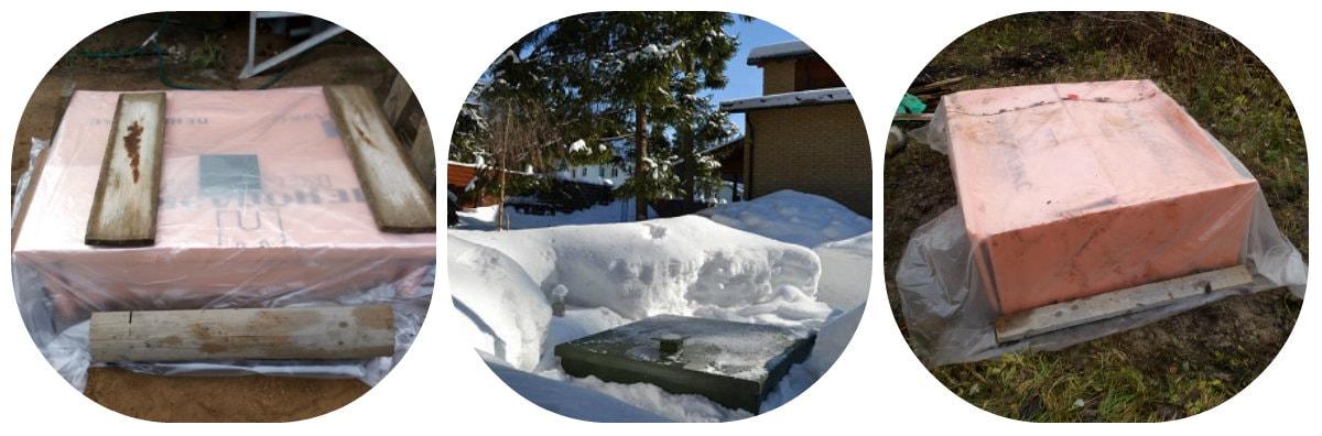 консервация септика на зиму